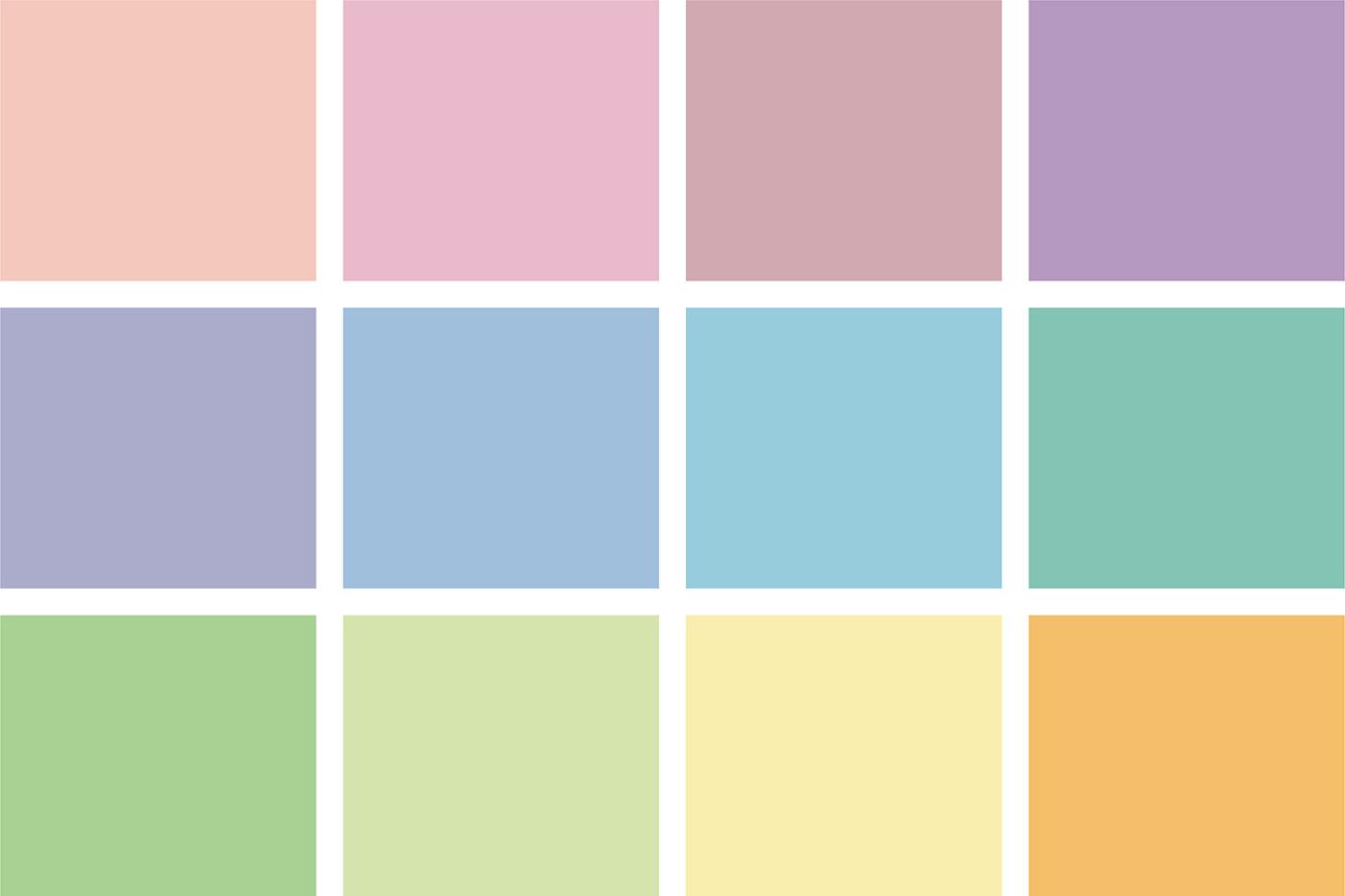 TANT 12 colors PASTEL – 15cm – VIERECK VERLAG