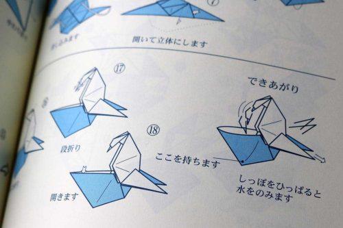 Origami Peacock – Jadwal Bus | 333x500
