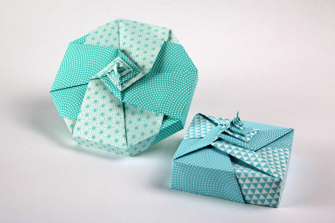 Octagonal Modular Origami Box – Origami Tutorials | 933x1400